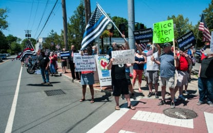 Bethlehem police receives exchange of harassment charges from July 4 rallies