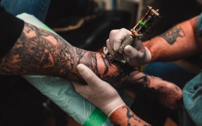 Once the place of nightmares for Mom, a tattoo studio is the 'safest place' to be