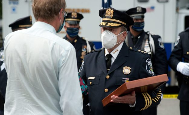 Retired Bethlehem police chief tells next in line to depend on team and community for guidance