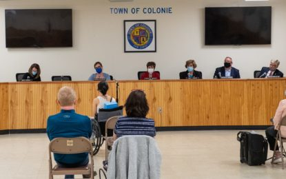 Colonie Town Board adjourns vote on panhandling law
