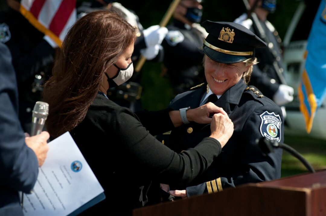 Gina Cocchiara named town's first woman police chief